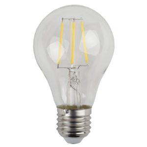 Лампа светодиодная 5 (40) Вт цоколь E27 грушевидная холодный белый свет 30000 ч. F-LED А60-5w-840-E27 ЭРА