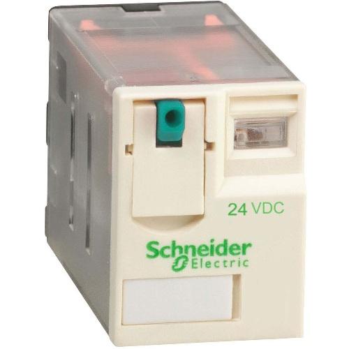 Миниреле Schneider Electric Zelio Relay RXM, 4 слаботочных (3А) перекидных контакта, катушка 230В АС, светодиод (переменный ток)