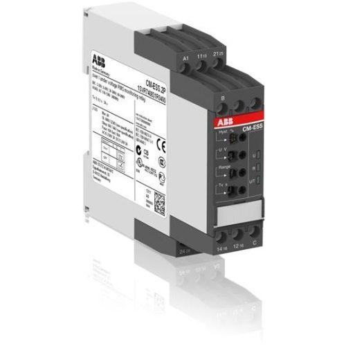 Однофазное реле контроля напряжения CM-ESS.2S (диапазоны измерения 3- 30В, 6-60В, 30-300В, 60-600 AC/DС)